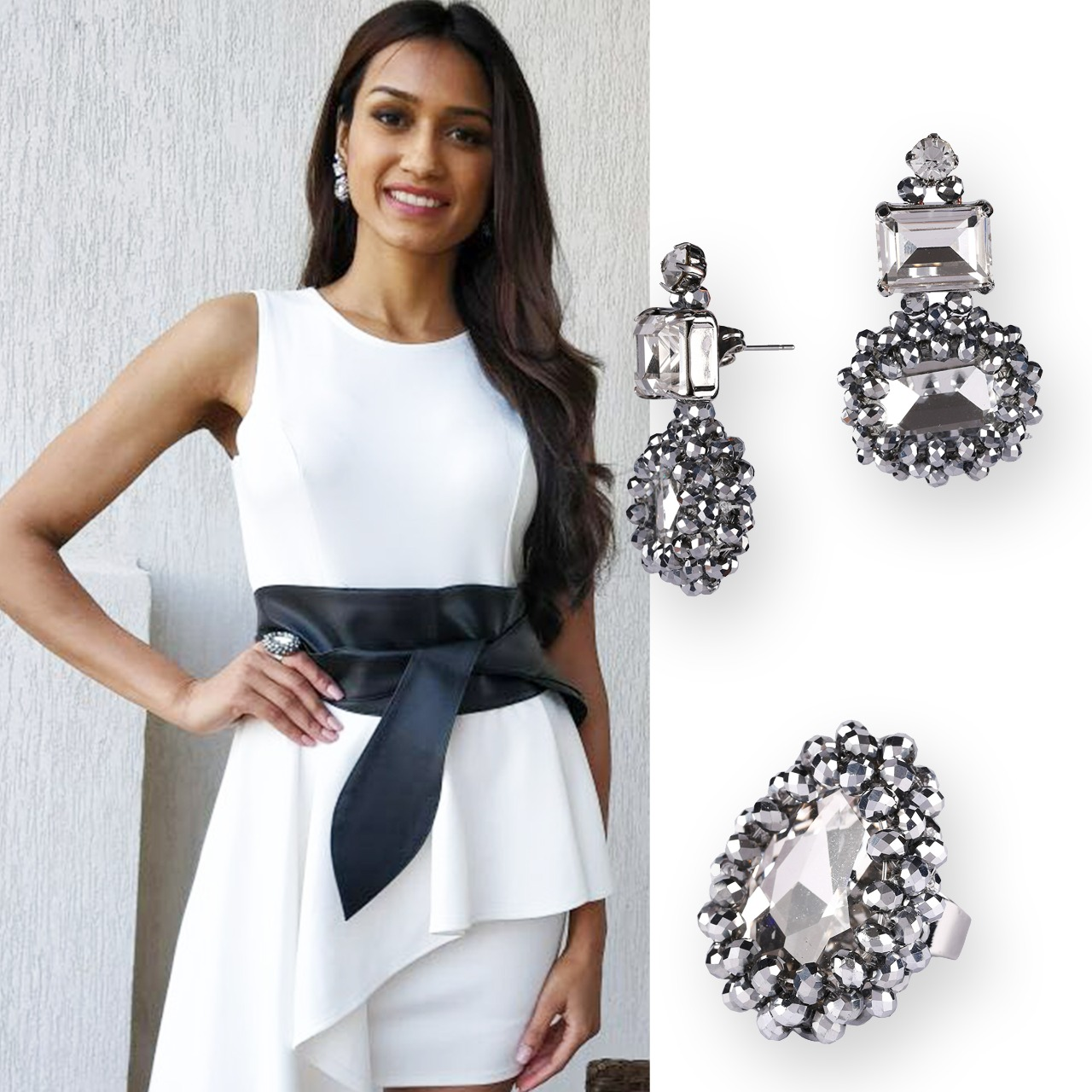 Miss India Runner-up Priyanka Kumari wearing Pieces from the Interstellar Collection
