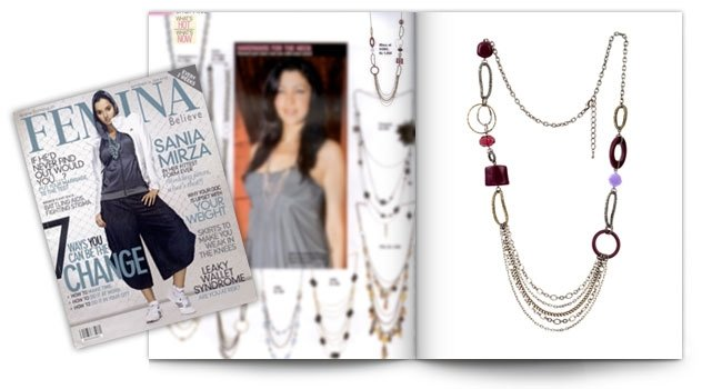 Femina, Eclectic Rio Necklace