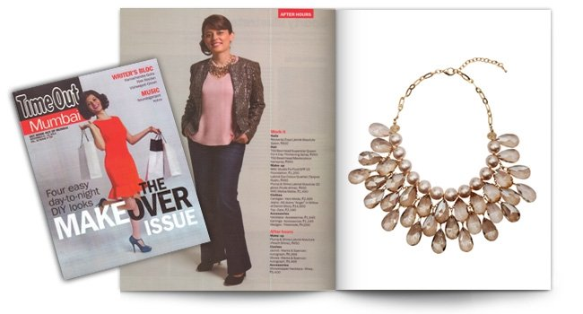 Femina, Showstopper Brunch Necklace
