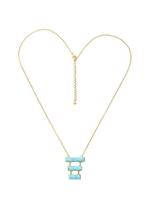 Aqua Skyline Necklace