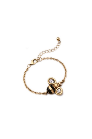 The Bee Happy Charm Bracelet