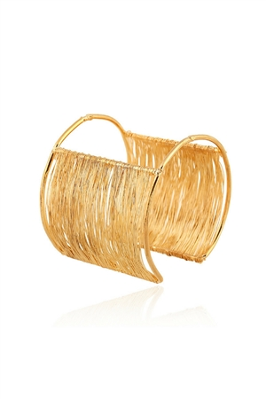 Dreamweaver Cuff Gold