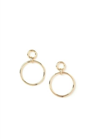 The Stella Gold Hoop Earrings