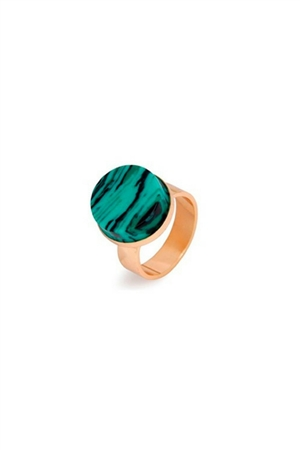 Green Tiger-Eye Ring