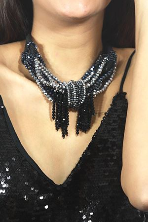 Drop Dead Gorgeous Crystal Statement Necklace