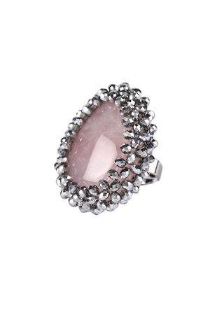 Dressed To Kill Crystal Statement Ring
