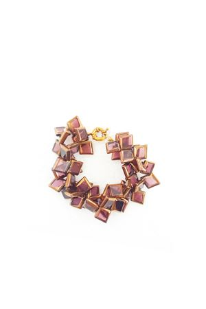 La Vi En Rose Gold Glass Bracelet