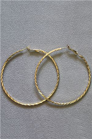Lilliana Gold Hoop Earrings