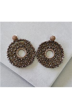 Serena Crochet Crystal Earrings