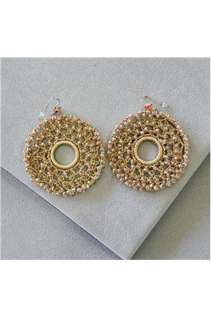Alida Crochet Crystal Earrings