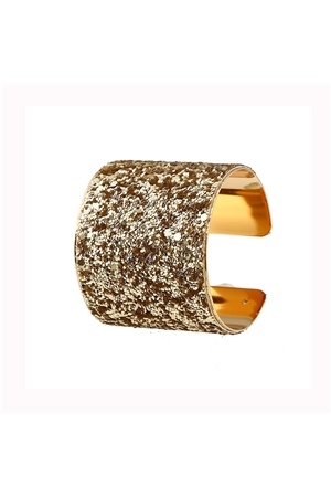 Blingy Gold Sequin Cuff