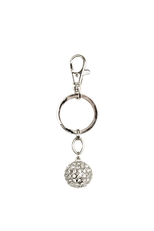 Shiny Disco Ball Key Ring
