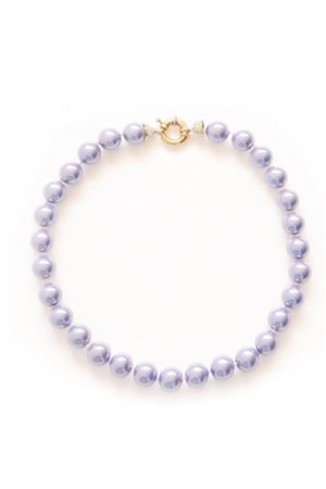 Amethyst Majorca Pearl Necklace