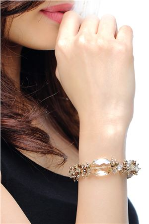 Sandcastle  Everyday Wear Crystal Bracelet