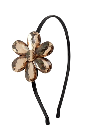 The Wwbwd Topaz Crystal Flower Hairband