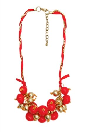Beads And Bauble Necklace