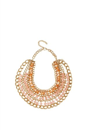 Bella Pink Statement Necklace