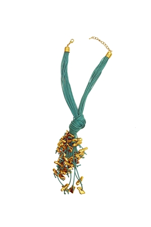 Coral Reef Knotty Necklace