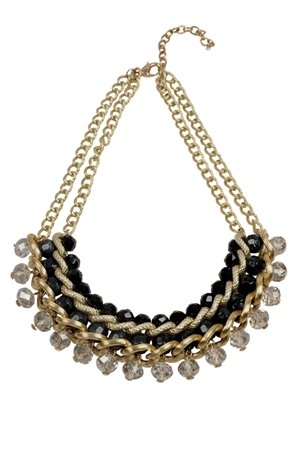 Best In Black Necklace