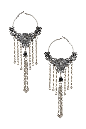 Tetomic Ornate Tassel Earrings