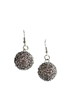 Wireball Drop Earrings