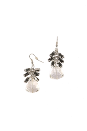 Delicate Crystal Drop Earrings