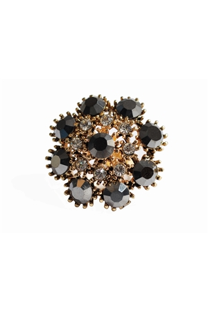 Floret Crystal Shimmer Ring