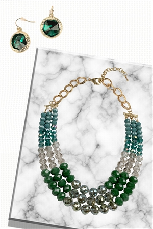 Emerald Crystal Set