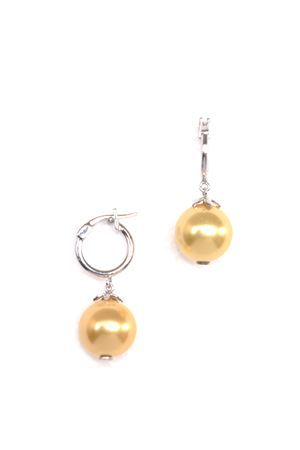 Sunshine Pearl  Drop Earring