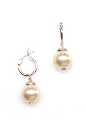 Moonshine Pearl  Drop Earring