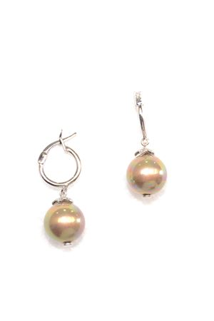 Halcyon Gold Pearl Drop Earrings