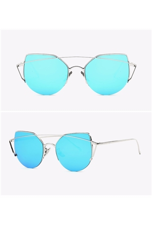 Aqua New Bridge Rim Sunglasses