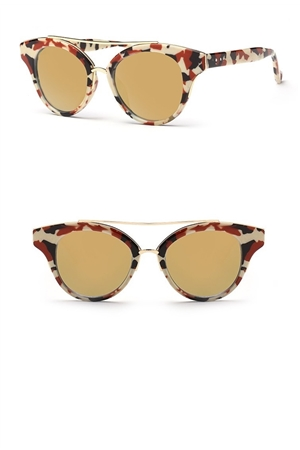 Brown Marble Sunglasses