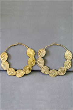 Lyla Gold Hoop Earrings