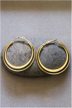 Sienna  Gold Hoop earrings