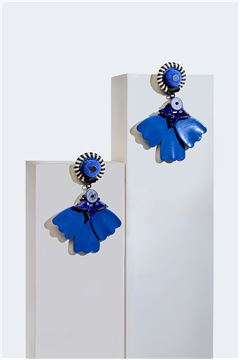 Petunia Petale Resortwear Drop Earrings