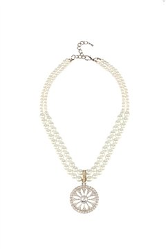 Duo Pearl Strand Necklace