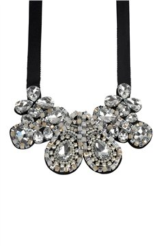 Crystal Maybach Diamonds Statement Bib Necklace