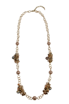 Topaz Crystal Necklace