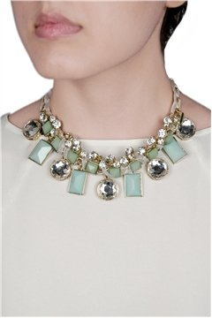 Statement Blue Necklace