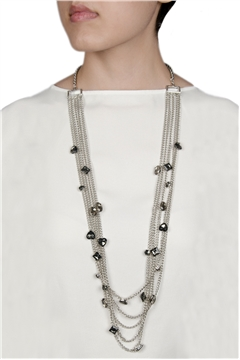 Multi Layered Beads Necklace