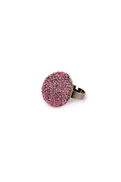 Pink Diamonds Ring