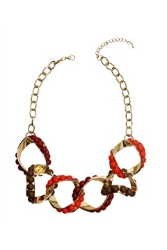 Merlot Loop Necklace