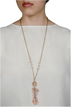 BLUSHING MIMOSA NECKLACE