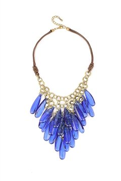 Electric Blue Necklace