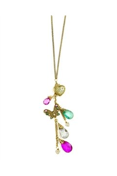 Multi-colour Pendant Necklace