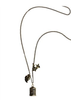 Birdcage Pendant Necklace