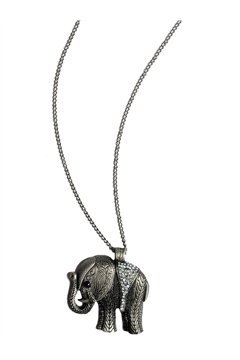 Great Indian Elephant Pendant Necklace