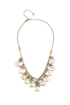 Crystal Drop Princess Necklace