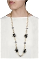 Delicate Grey Beaded Necklace